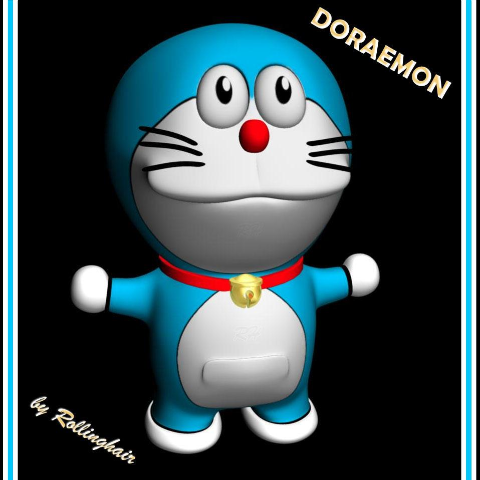 Doraemon In 3d Kumpulan Gambar Doraemon