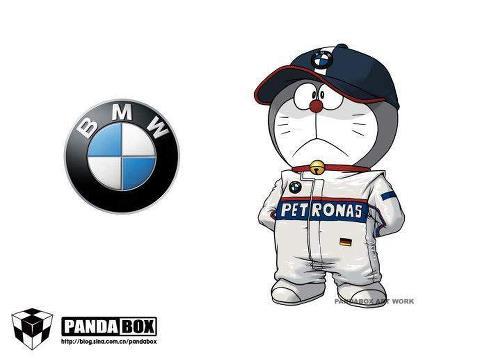 Doraemon BMW