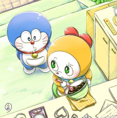 Doraemon masak
