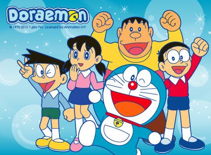 Doraemon dan teman2